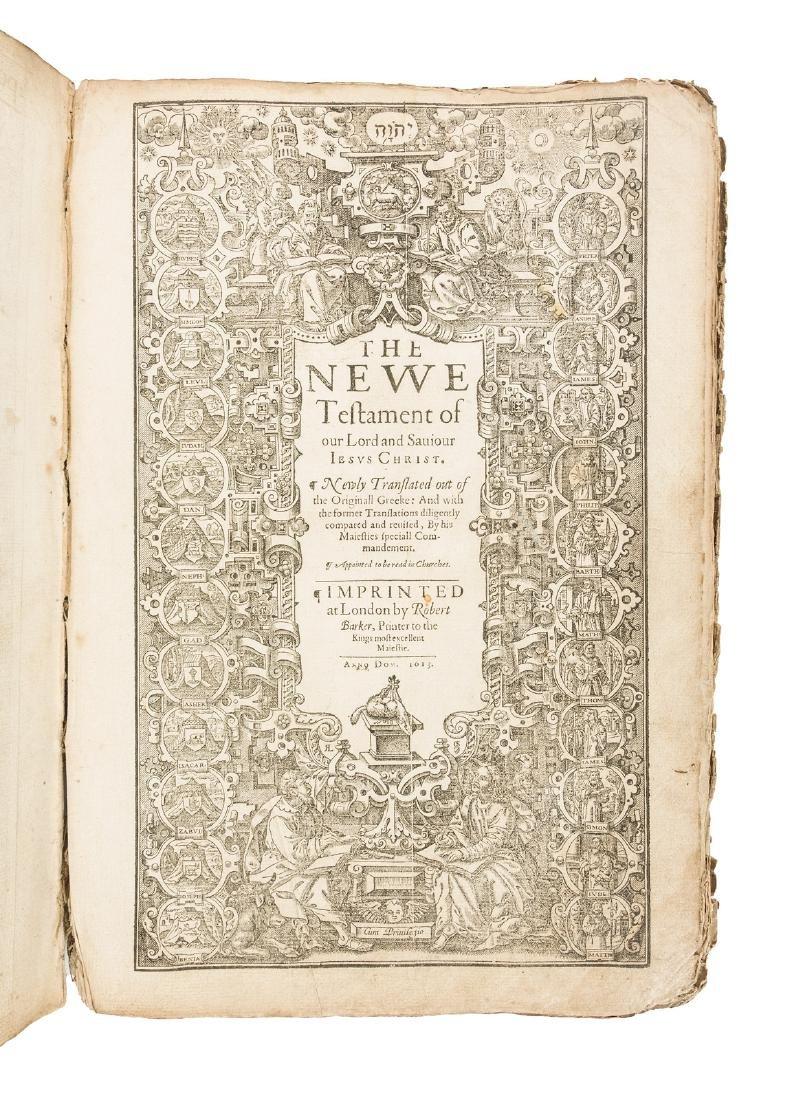 Folio King James Bible 1613
