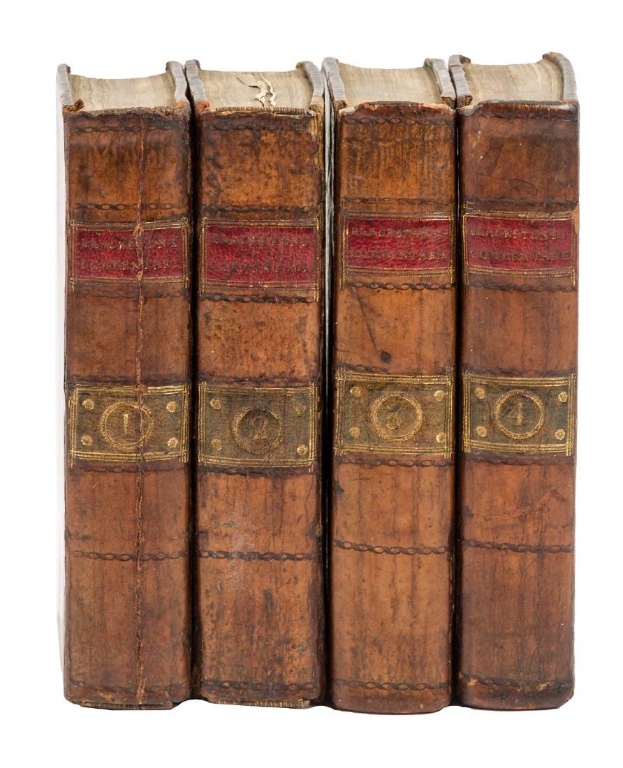 Blackstone's Commentaries on English law 1775