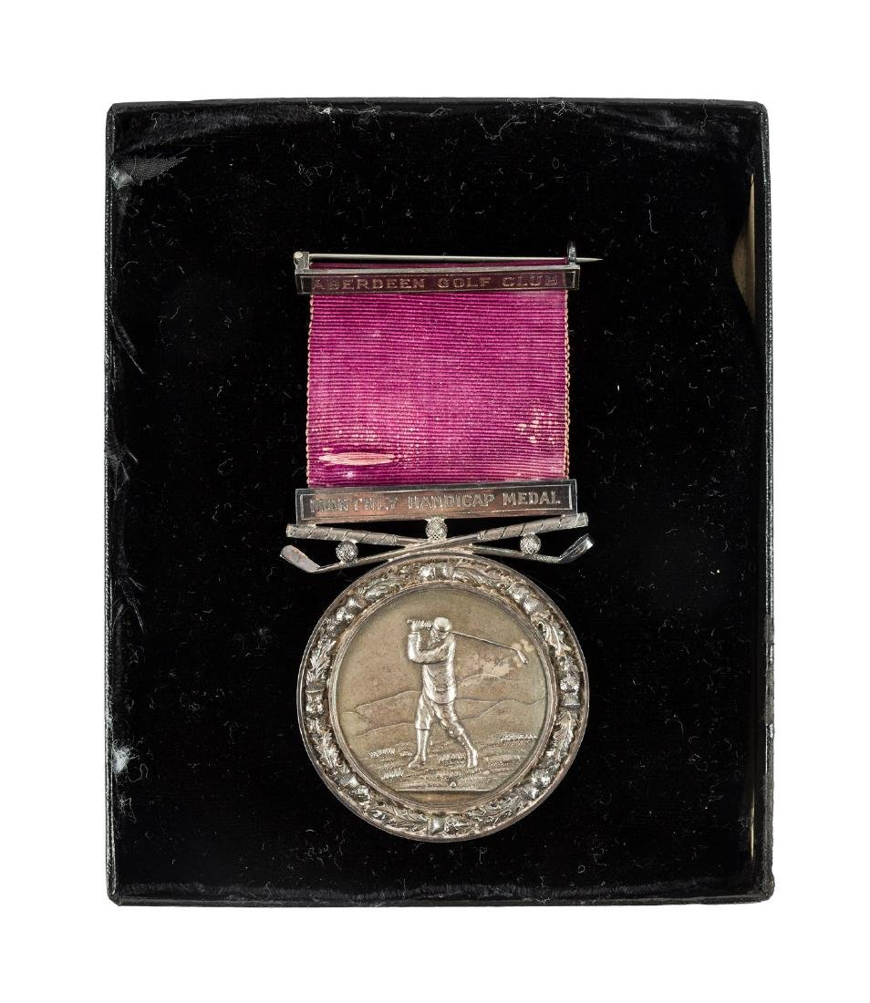 Edinburgh Golf Club Monthly Handicap Medal 1903