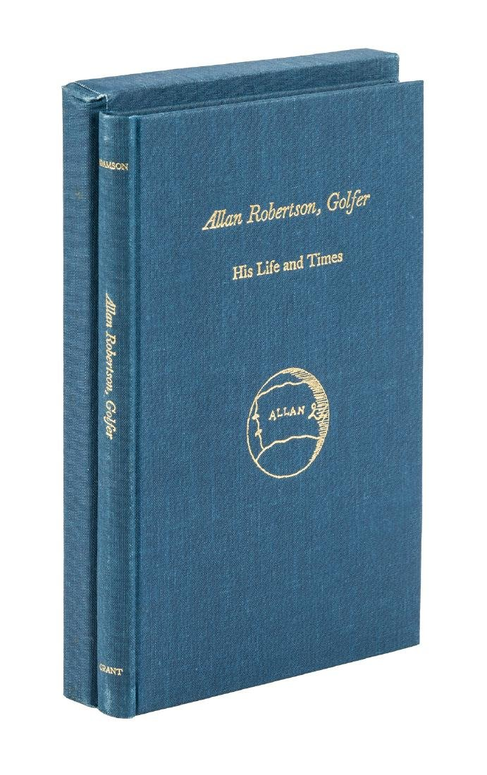 Allan Robertson, Golfer: His Life and Times
