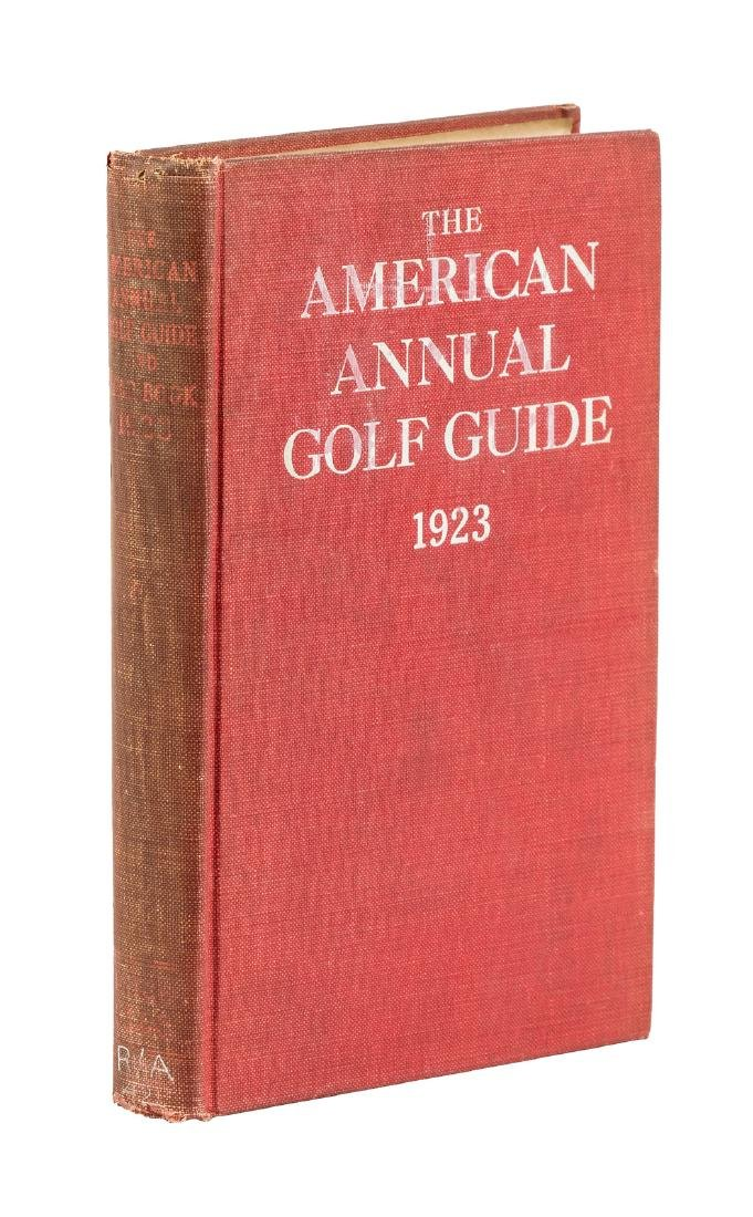 American Annual Golf Guide 1923