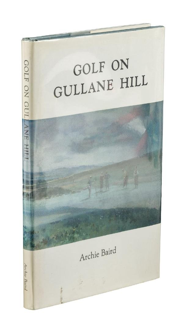 Archie Baird Golf on Gullane Hill signed