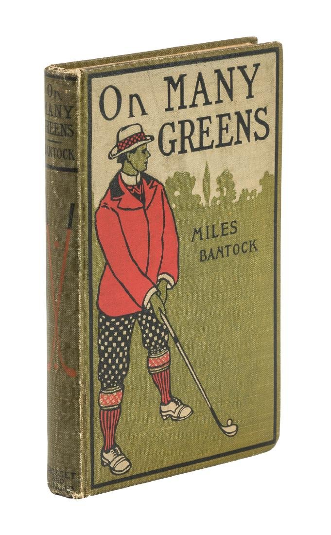On Many Greens, by Miles Bantock First Edition