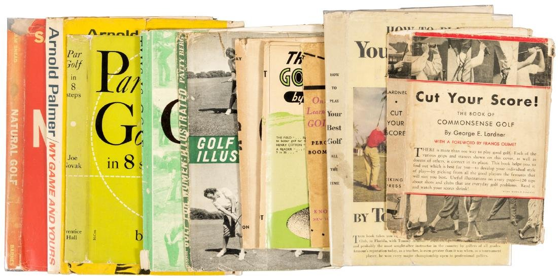 Eleven golf dust jackets
