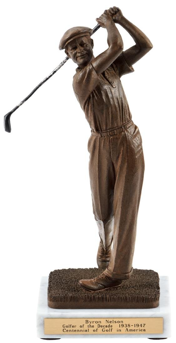 Byron Nelson Golfer of the Decade statue