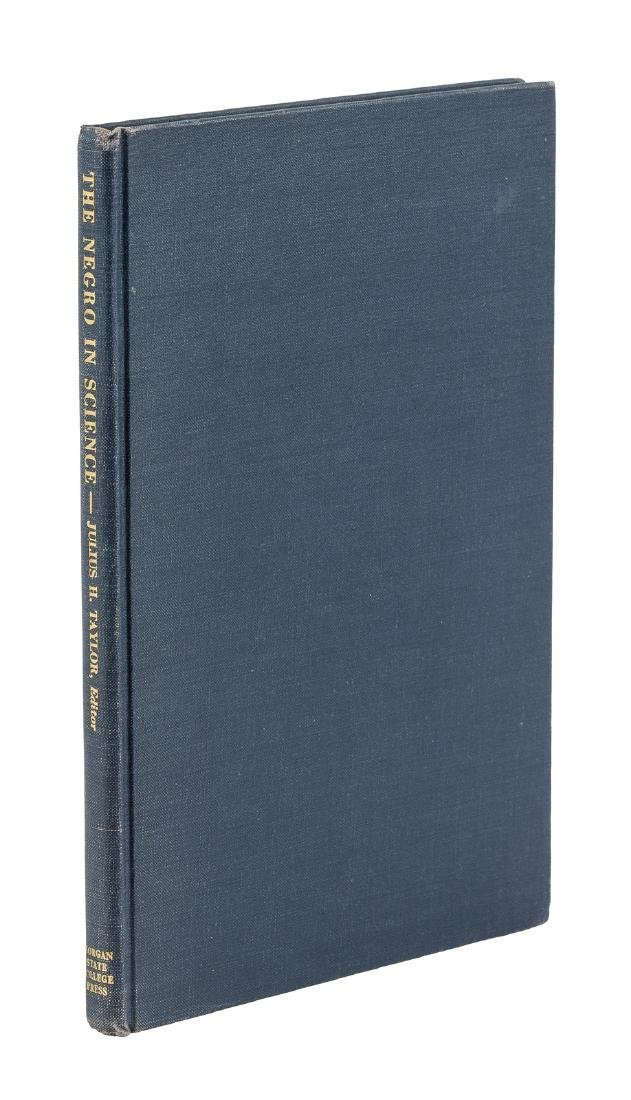 Negro in Science, groundbreaking 1955 book