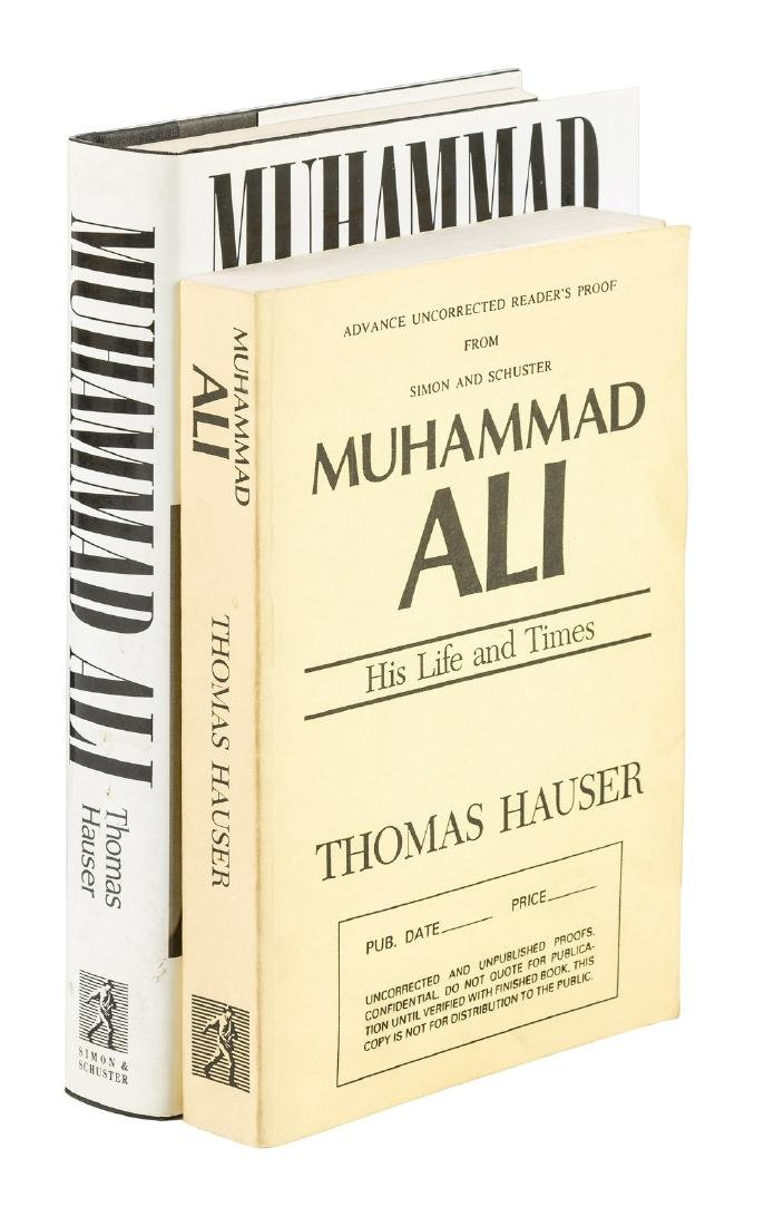 Muhammad Ali Life & Times 2 signed copies
