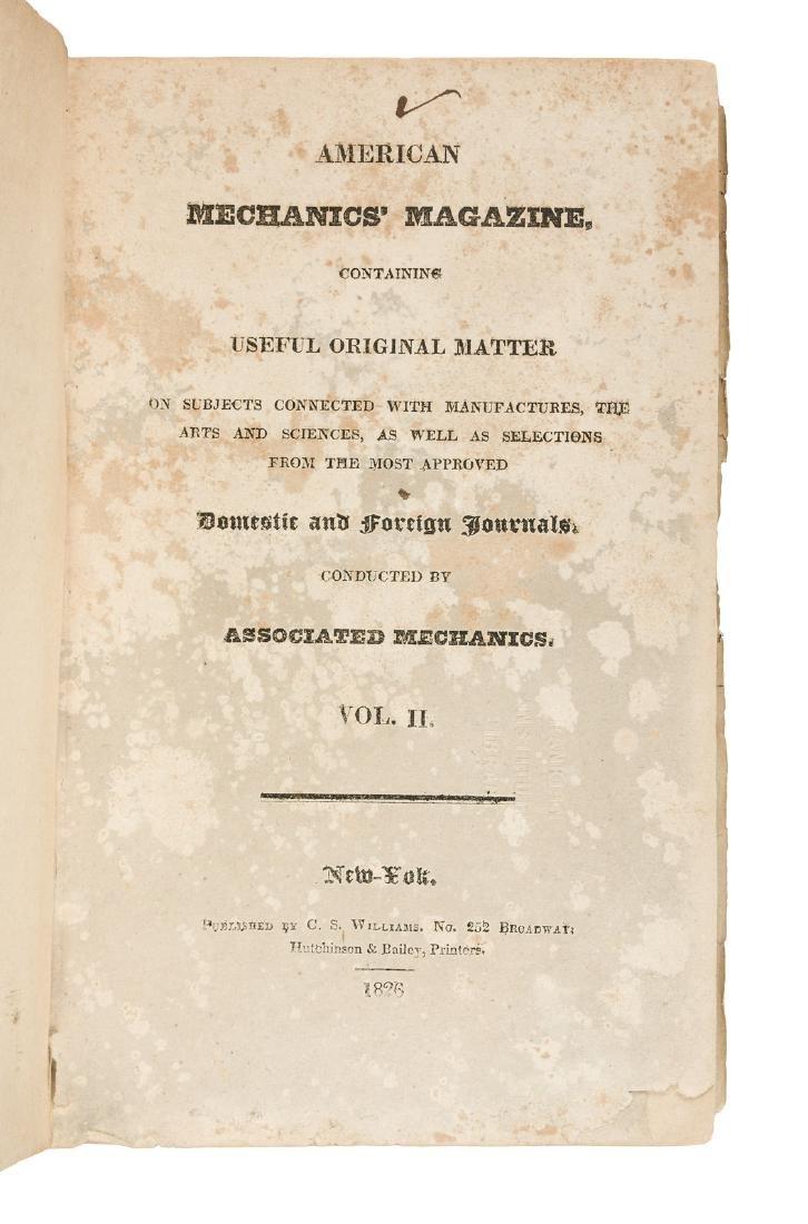 American Mechanics' Magazine, Vol. II 1826