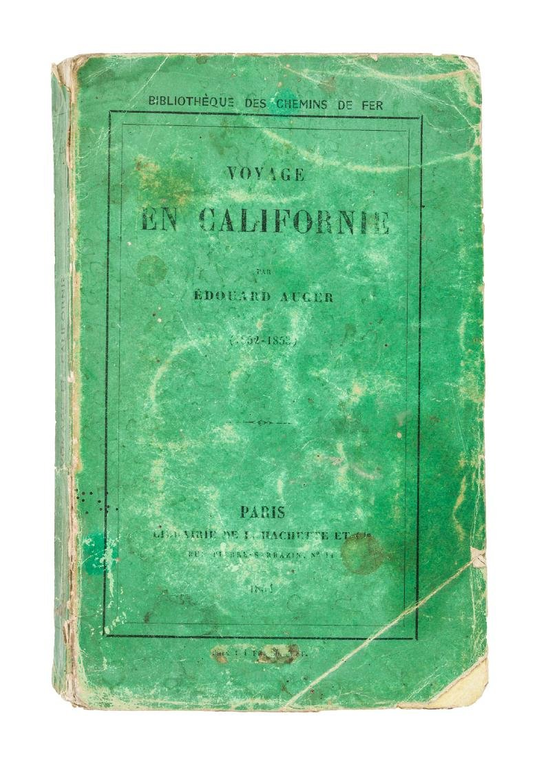 Voyage en Californie (1852-1853)