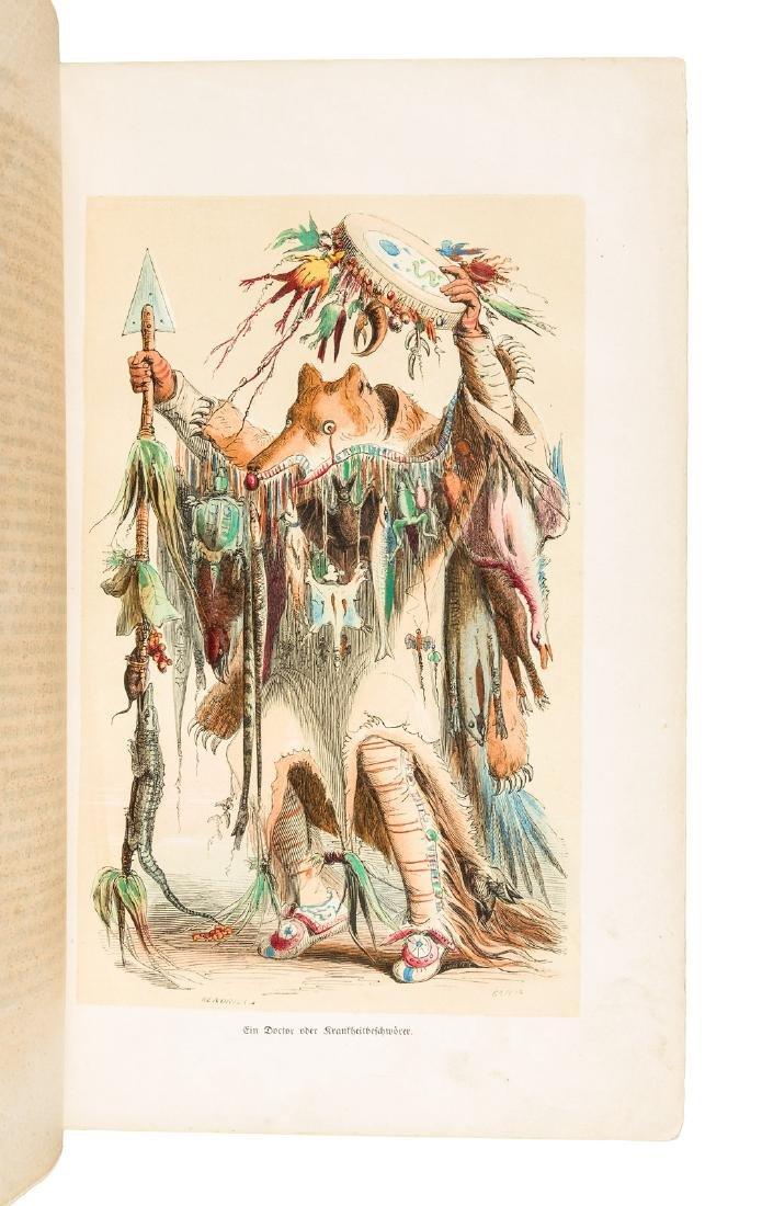 Caitlen, Die Indianer Nord-Amerikas, 24 color plates