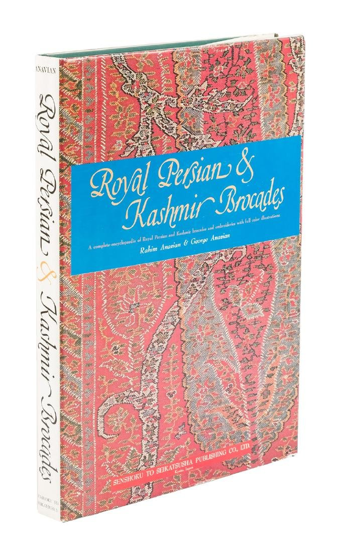 Royal Persian & Kashmir Brocades 104 color plates