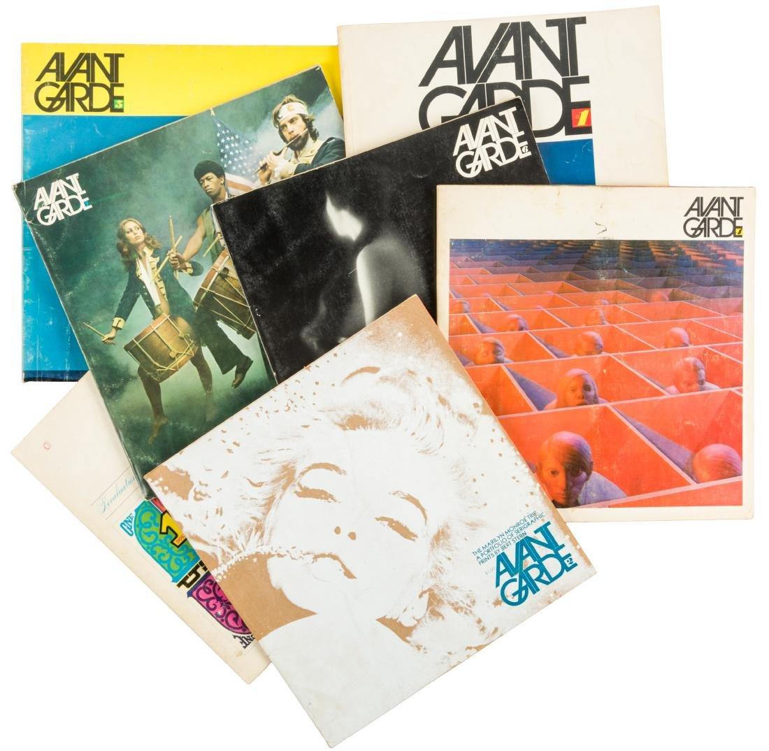 Avant Garde Magazine Numbers 1 through 7