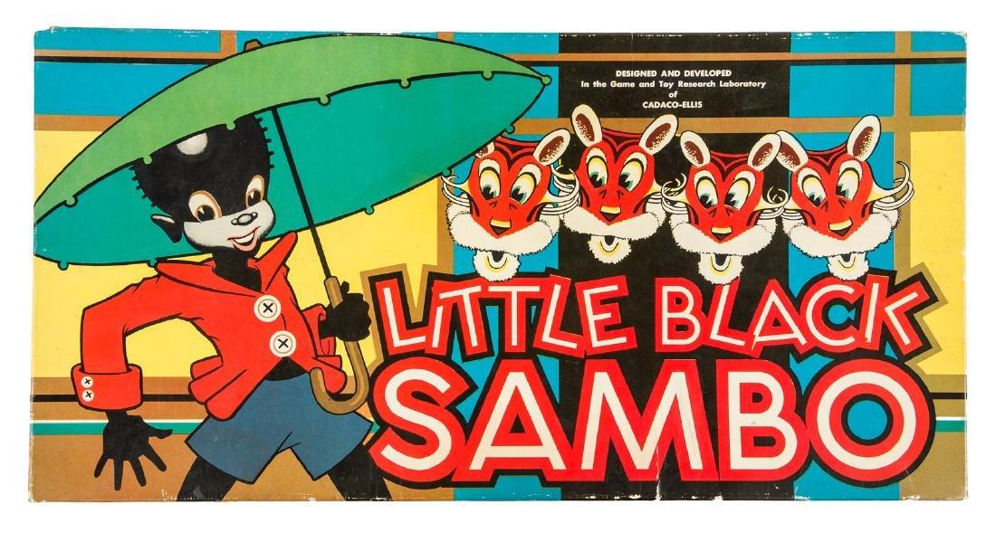 Little Black Sambo Game c.1945