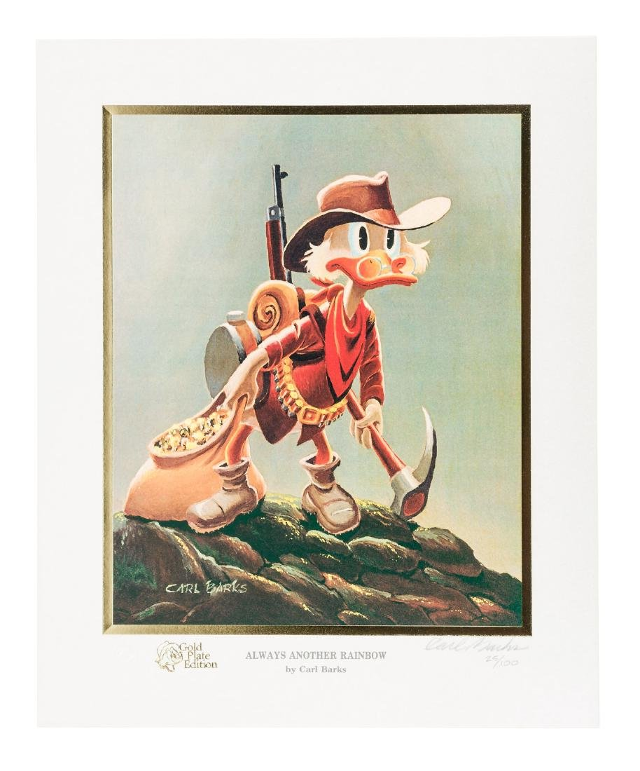 Carl Barks Donald Duck lithograph Always Another