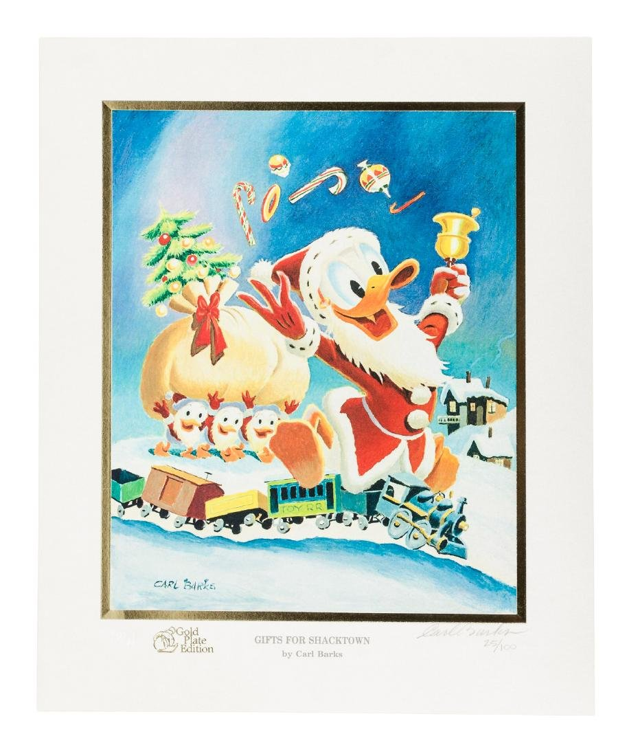 Carl Barks Donald Duck lithograph Gifts for Shacktown