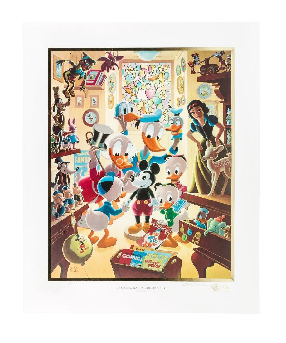 Carl Barks Donald Duck lithograph Uncle Walt's
