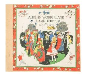 Alice in Wonderland Handkerchiefs by Gladys Peto