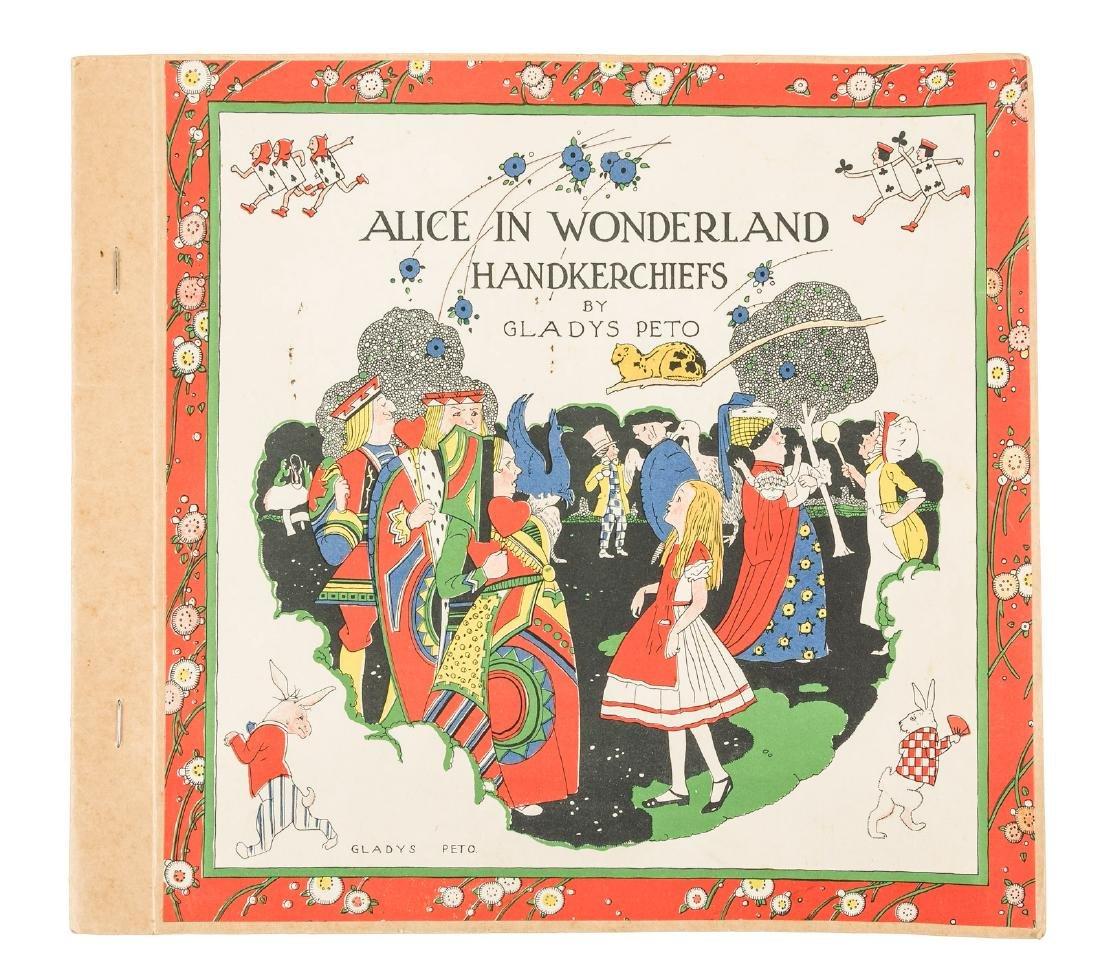 Alice in Wonderland Handkerchiefs by Gladys Peto