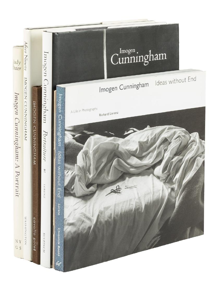 Six volumes of photography by Imogen Cunningham