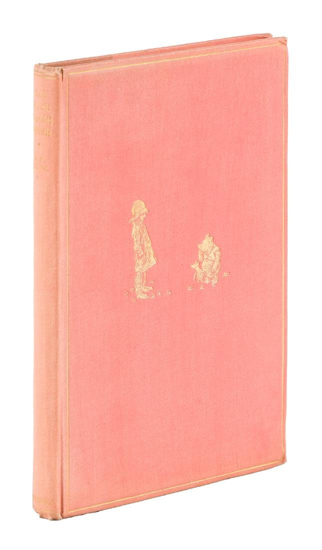 First Edition of The House at Pooh Corner