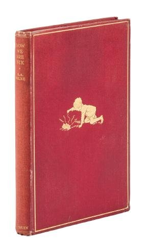 A.A. Milne Now We Are Six First Edition