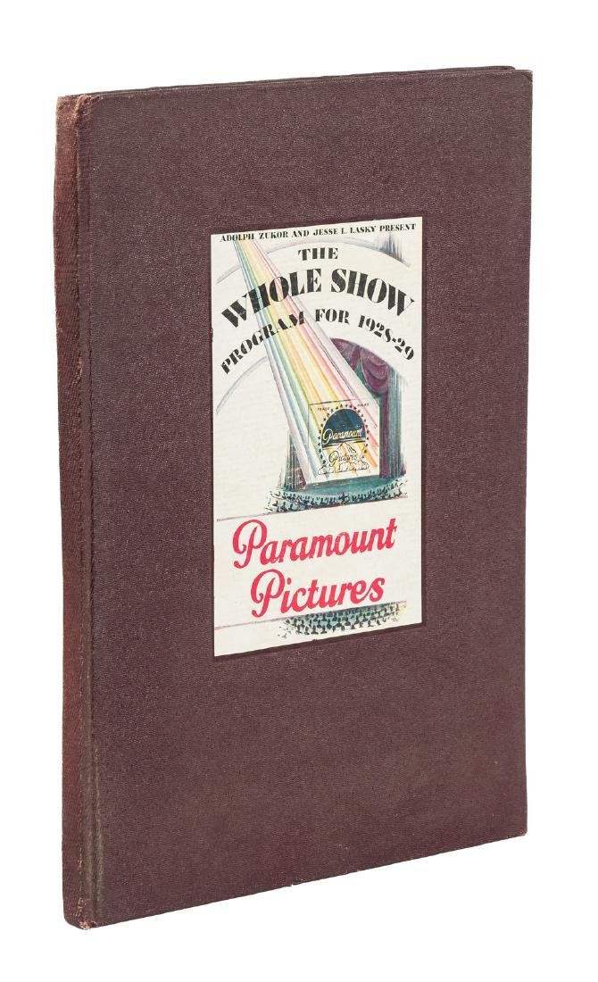 Paramount Pictures Program for 1928-29