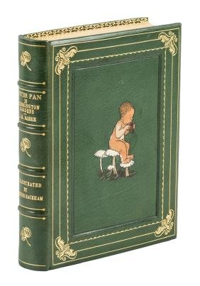 Peter Pan finely bound by Cottage Bindery