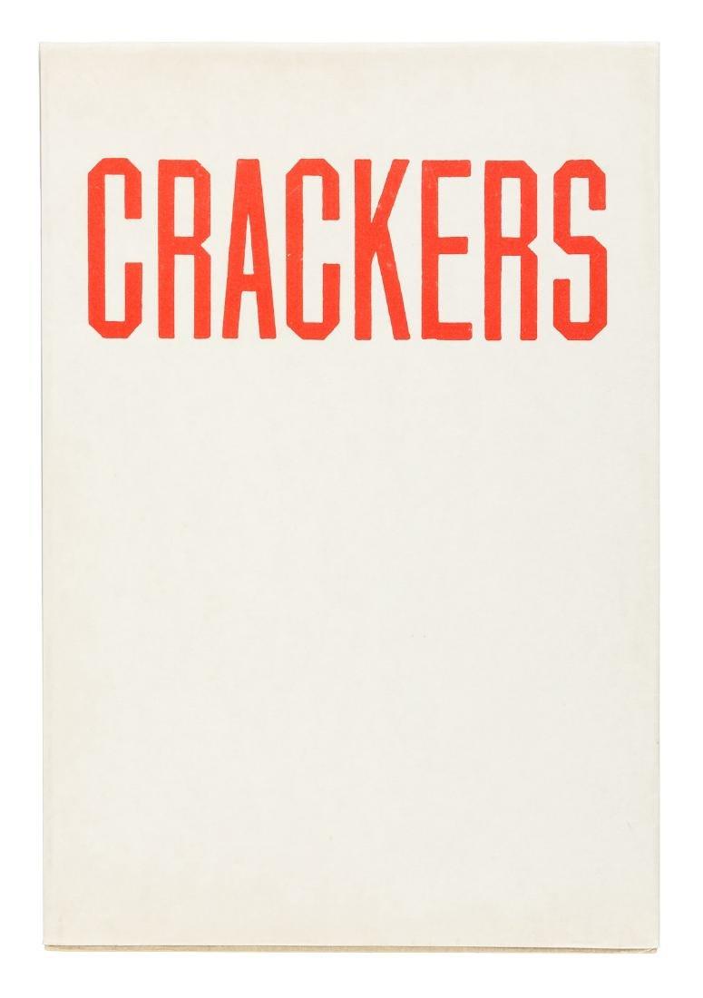 Edward Ruscha Crackers