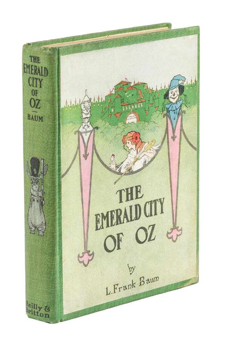 The Emerald City of Oz Second Printing