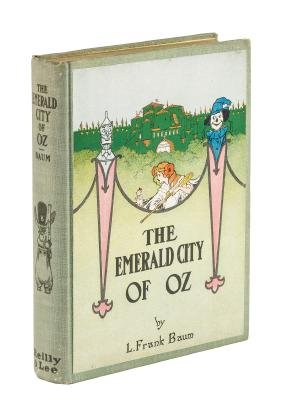 The Emerald City of Oz, fourth printing