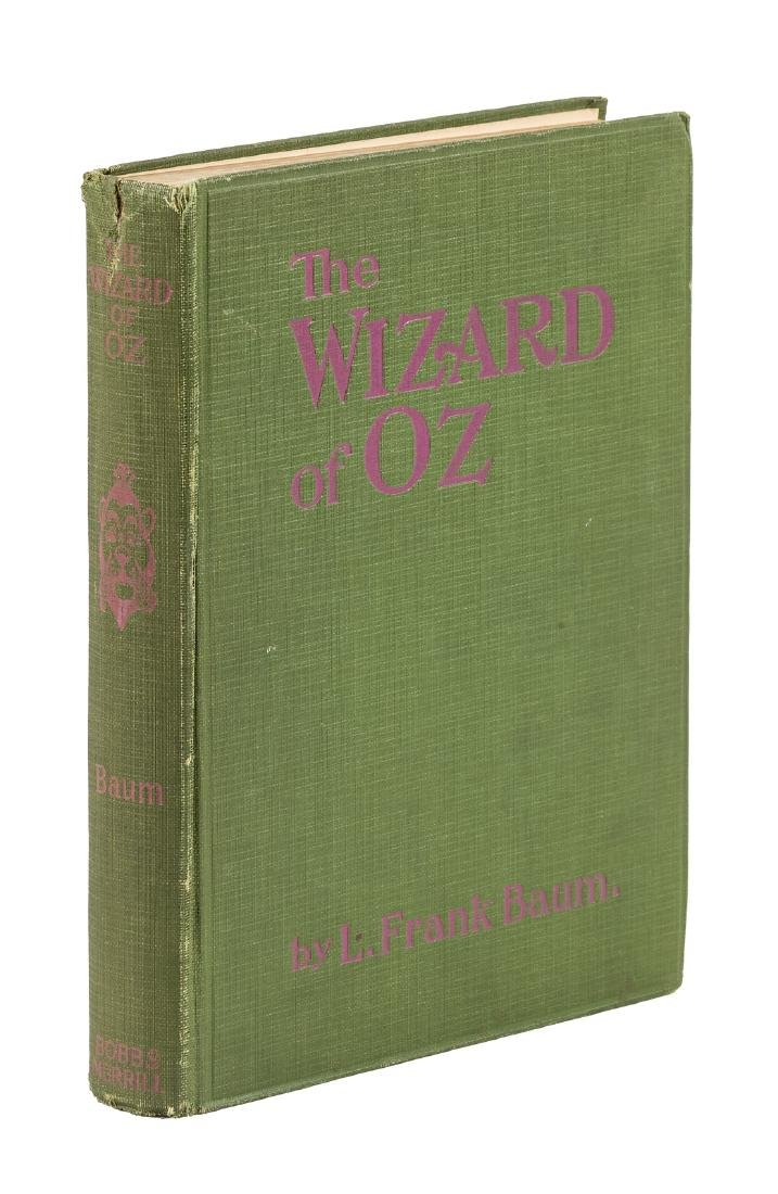 First photoplay edition of Wizard of Oz
