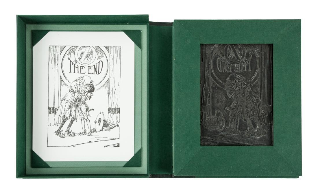 Printing plate for John R. Neill Oz illustration
