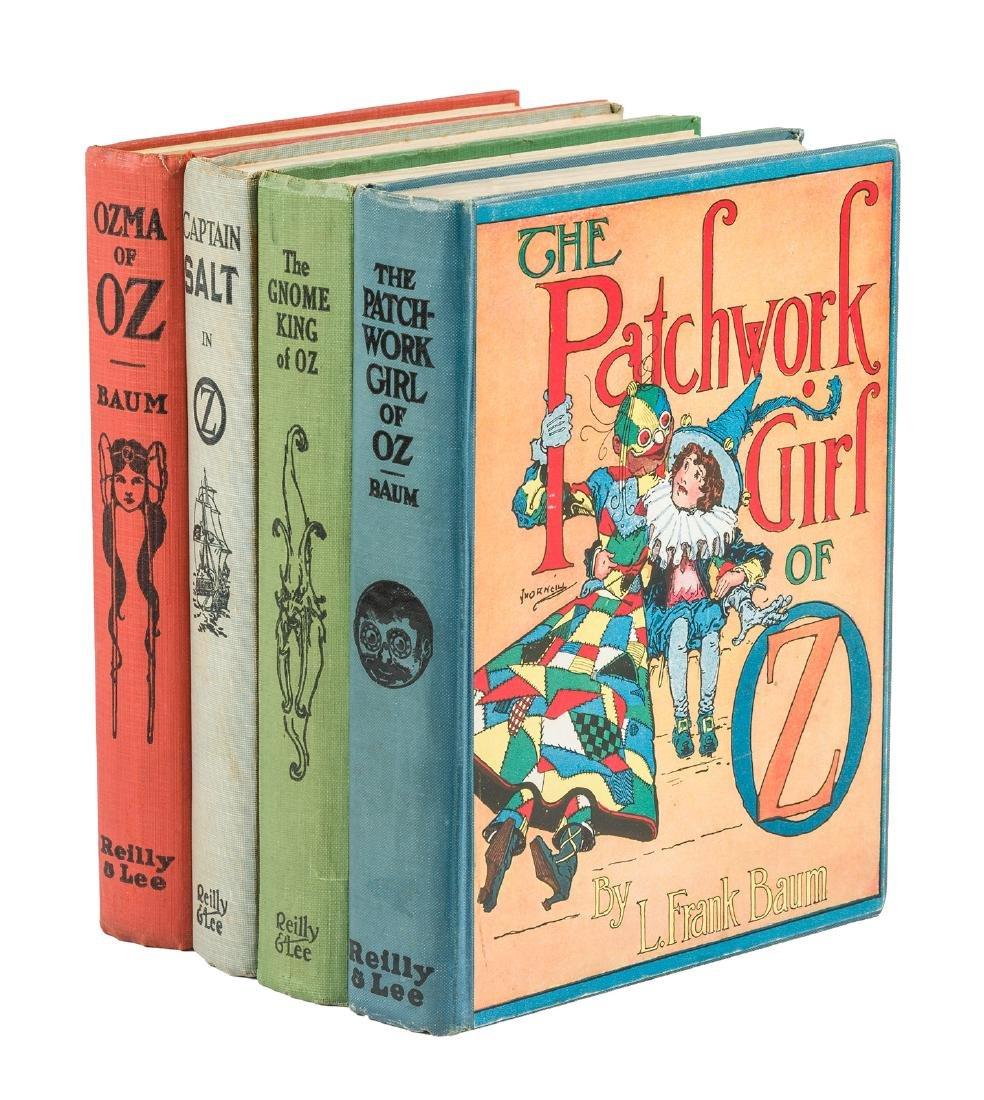 Four classic Oz books