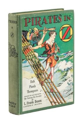 Ruth Plumly Thompson Pirates in Oz rare variant edition