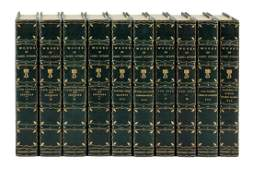 Works of Lord Byron finely bound