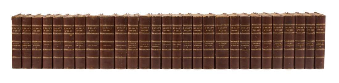 Alexander Dumas nicely bound