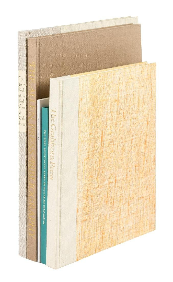 Five biographies and bibliographies of fine presses