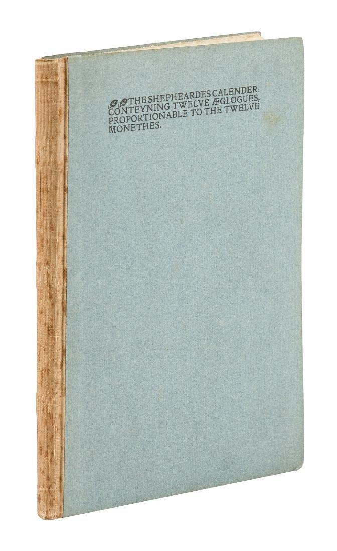 Kelmscott Press The Shepheardes Calender