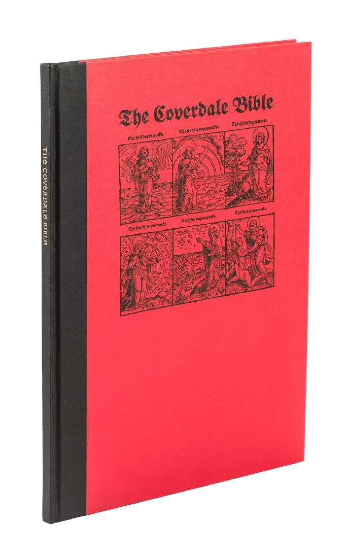 Coverdale Bible (1535) leaf book, Limited 1/425