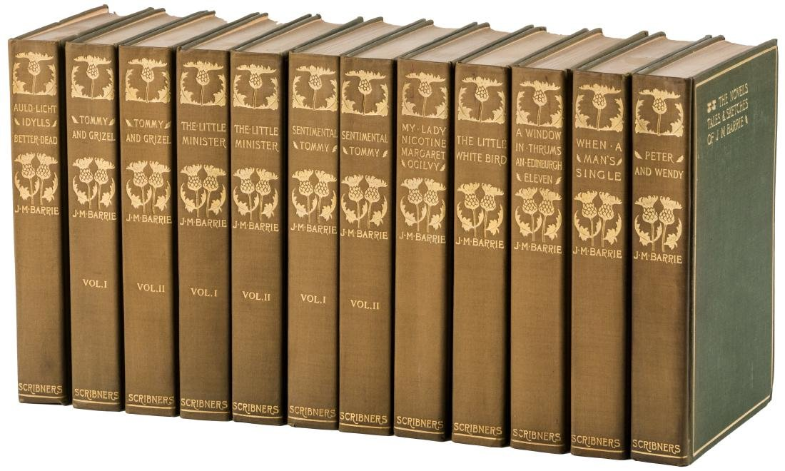 Works of J.M. Barrie Author's Edition