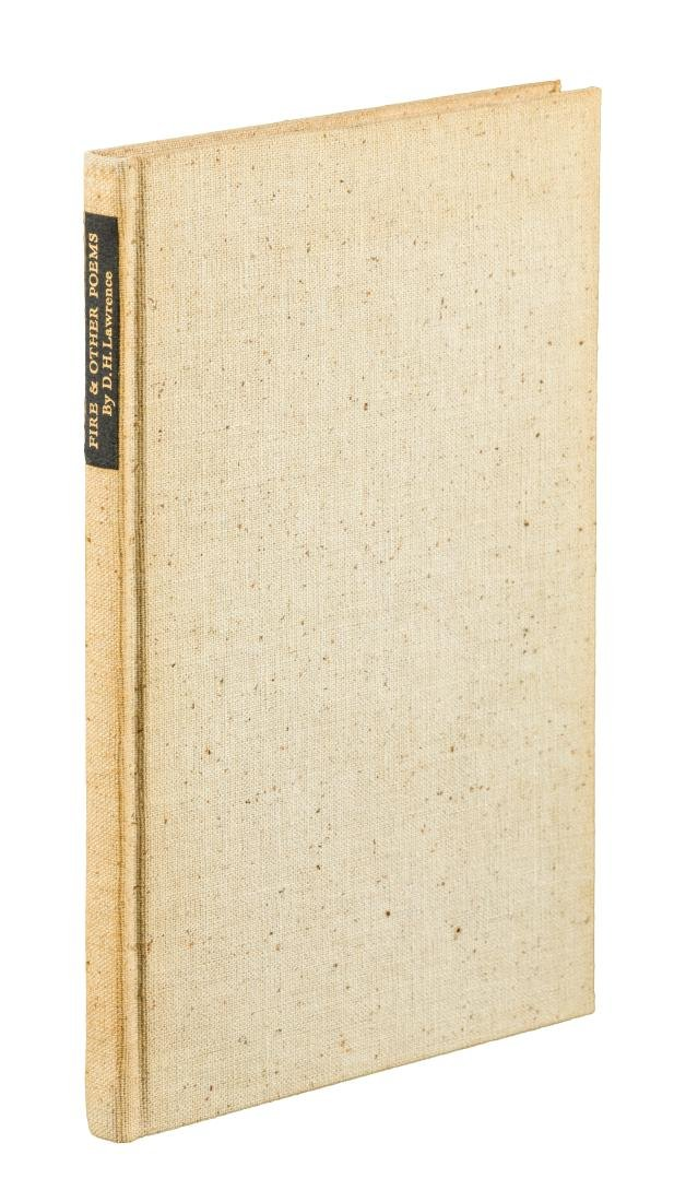 D.H. Lawrence Fire and Other Poems