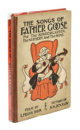 The Songs of Father Goose - two editions