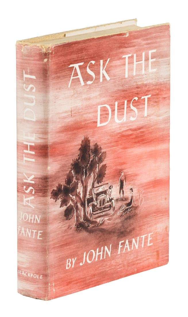 John Fante Ask the Dust first edition