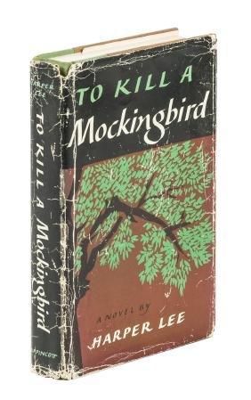Harper Lee, Mockingbird, inscribed in dj