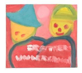 Brothers Underground - original painting by Jack