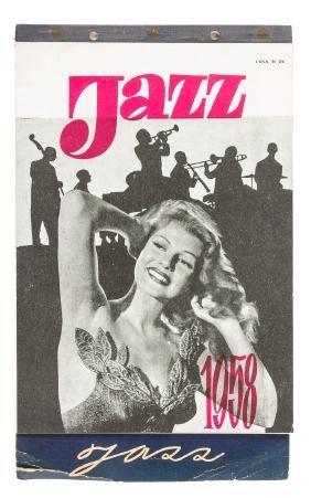 1958 Polish Jazz Calendar