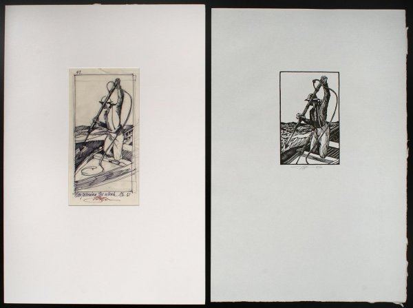 4: One Hundred Wood Engravings by Barry Moser for the A