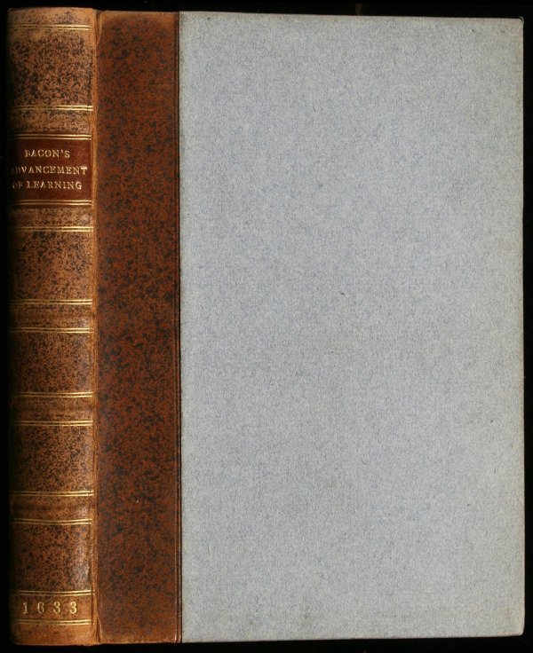7: The Two Bookes of Sir Francis Bacon, of the Proficie