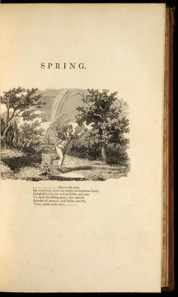15: The Seasons, by J. Thomson. Embellished with Engrav