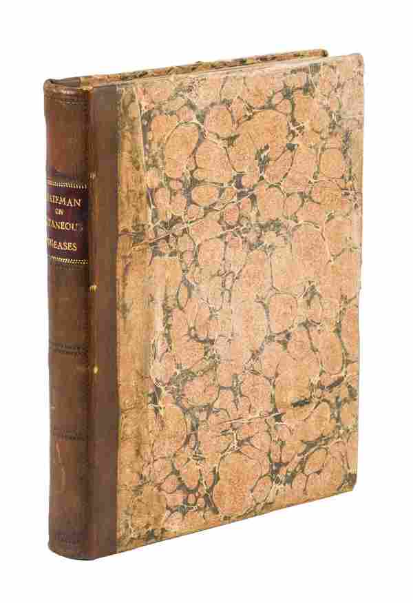 Graphic color plates of cutaneous diseases from 1817